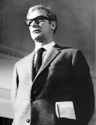 Michael Caine as Harry Palmer bw