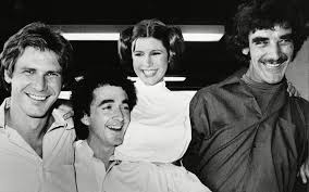 Star Wars original cast bw